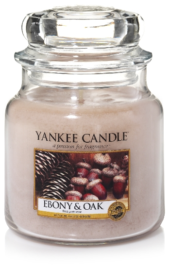 Yankee Candle Ebony and oak