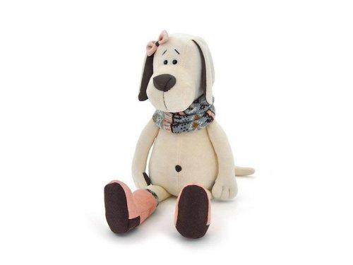Pes Candy ve válenkách sedící (35cm/50cm) (1)