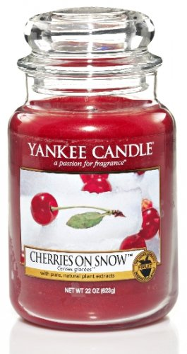 Yankee Candle Cherries on snow DOPRODEJ (3)
