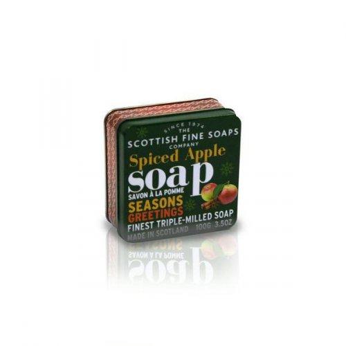 Sváteční mýdla v dárkové plechovce (2)