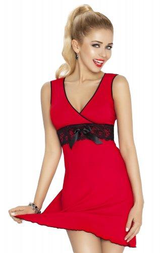 Dámská košilka Kamila červená (1)