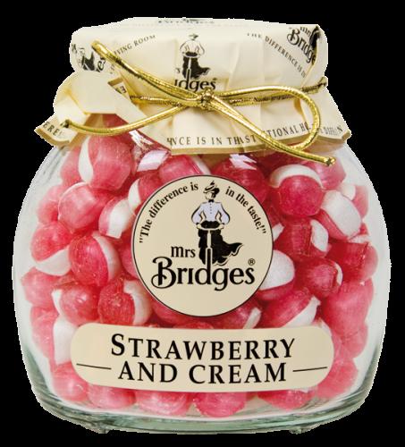 Bonbony jahody se smetanou (1)