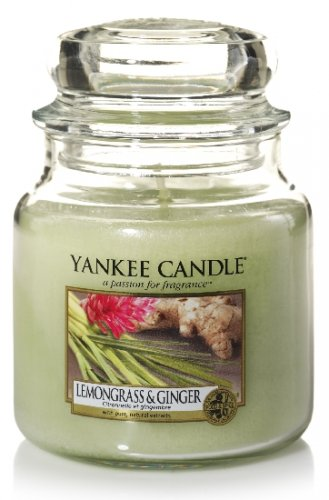 Yankee Candle Lemongrass and ginger (1)