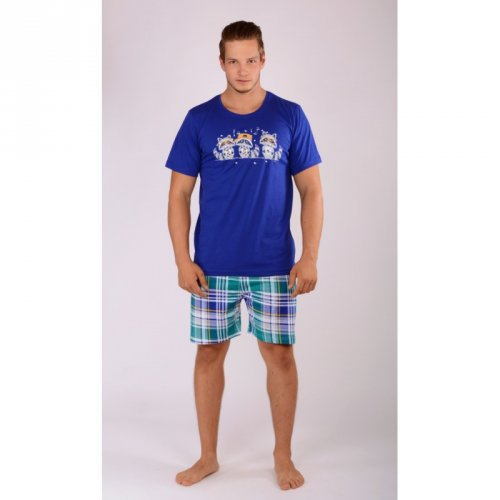 Pánské šortkové pyžamo Mývalové DOPRODEJ (1)