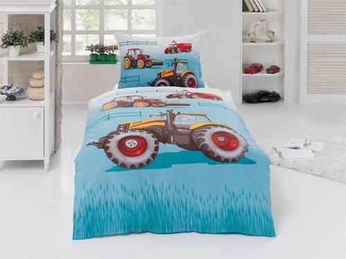 Bavlněné povlečení Traktor (1)
