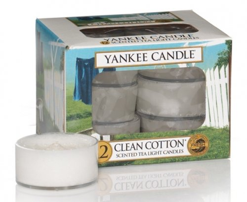 Yankee Candle Clean cotton (10)