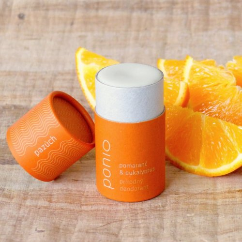 Tuhý přírodní deodorant Pomeranč a eukalyptus  (1)