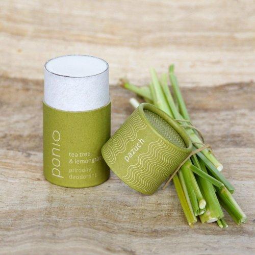 Tuhý přírodní deodorant Tea tree & lemongrass (2)