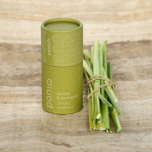 Tuhý přírodní deodorant Tea tree & lemongrass (1)