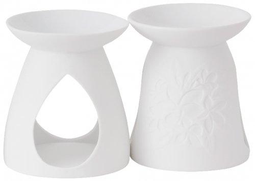Aromalampa Pastel hues bílá floral (1)