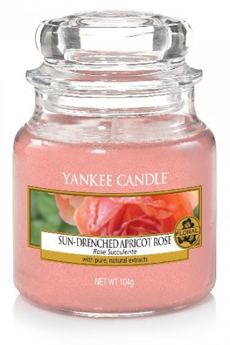 Yankee Candle Sun-drenched apricot rose DOPRODEJ (4)