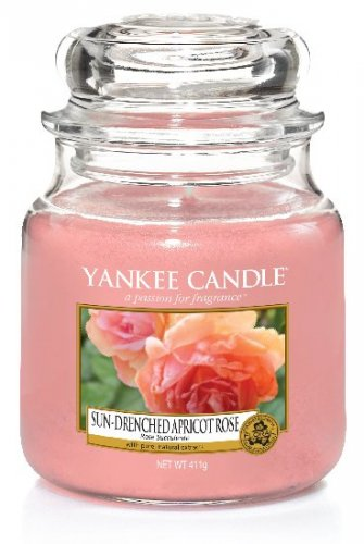 Yankee Candle Sun-drenched apricot rose (1)