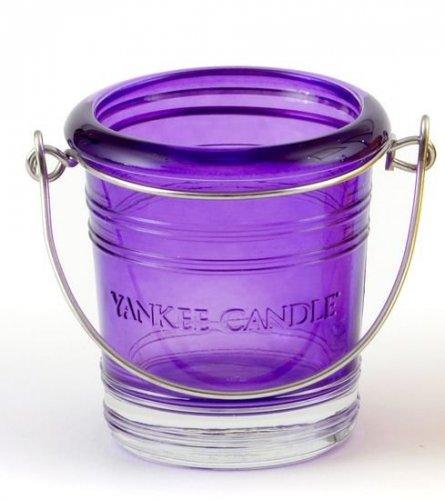 Svícen Bucket fialový (1)