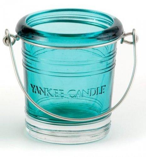 Svícen Bucket zelenomodrý (1)