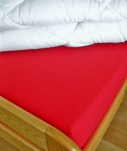 Plátěné prostěradlo (červená) (1)