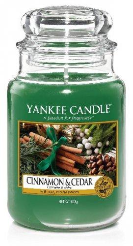 Yankee Candle Cinnamon & cedar (1)
