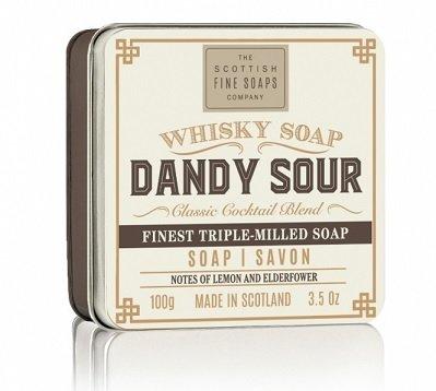 Whisky mýdla v dárkové plechovce (3)
