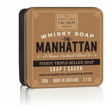 Whisky mýdla v dárkové plechovce (2)
