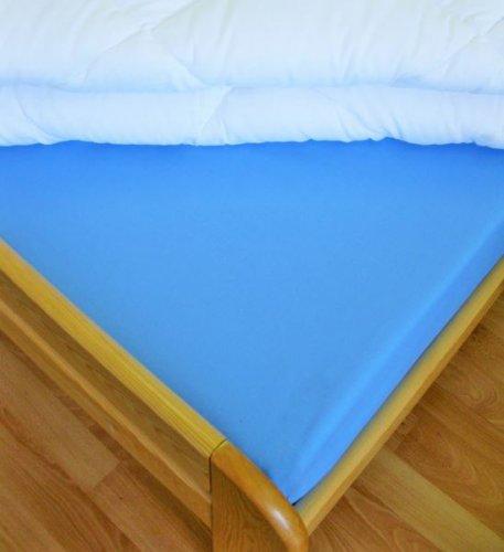 Plátěné prostěradlo (modrá) (1)