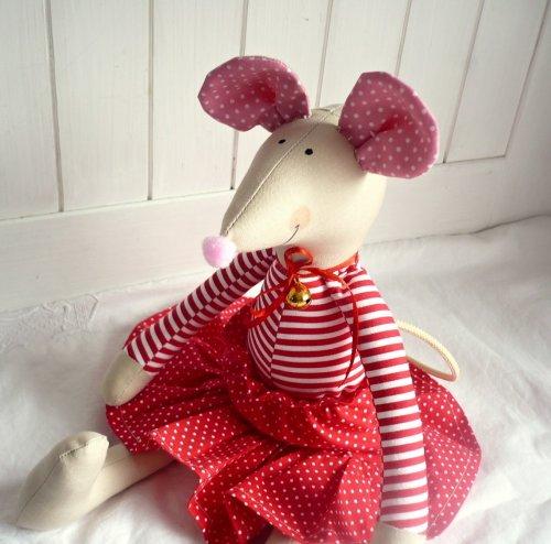 Ručně šitá Myška (1)