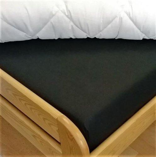 Plátěné prostěradlo (černá) (1)