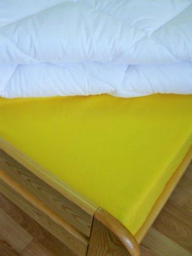 Plátěné prostěradlo (citronová) (1)