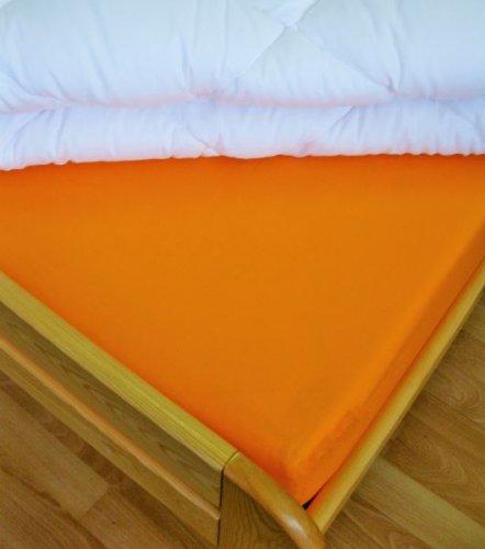 Plátěné prostěradlo (oranžová) (1)