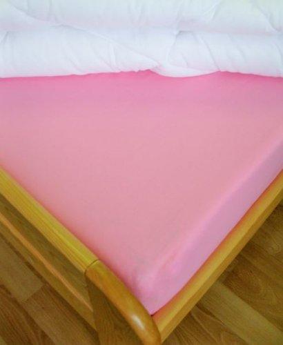 Plátěné prostěradlo (růžová) (1)