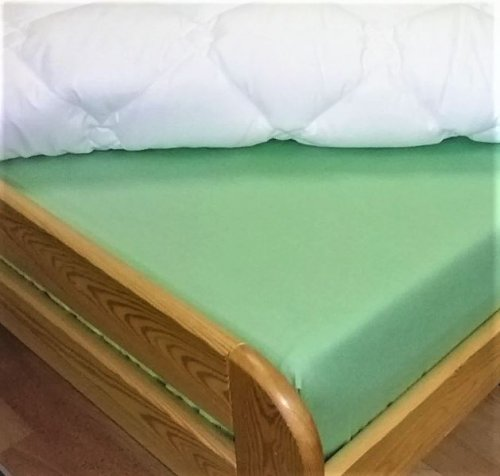 Plátěné prostěradlo (zelená) (1)