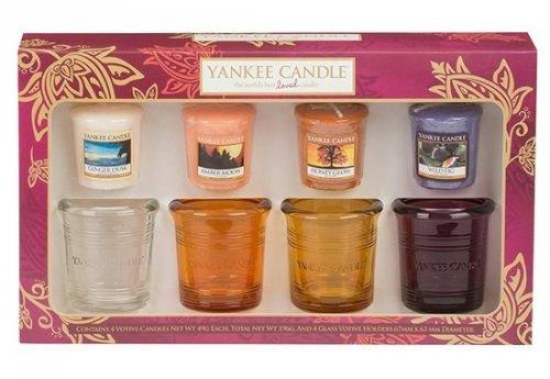 Yankee Candle Podzimní dárková sada 4+4 (1)