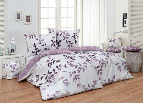 Bavlněné povlečení Ember lila (1)