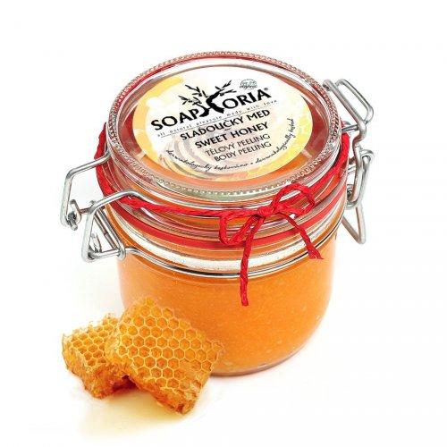 Přírodní peeling Slaďoučký med (1)