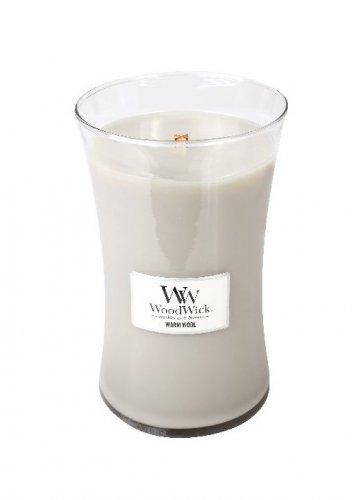 WoodWick Warm Wool (velká váza)  (1)