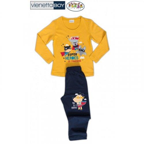 Dětské pyžamo Superhrdinové (1)
