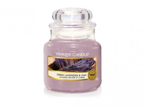 Yankee Candle Dried lavender & oak (4)