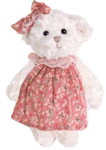 Medvídek Maja v růžových šatech (25 cm) (1)