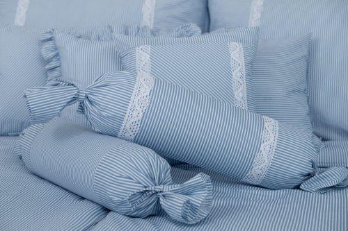 Bavlněné povlečení Modrý proužek (2)