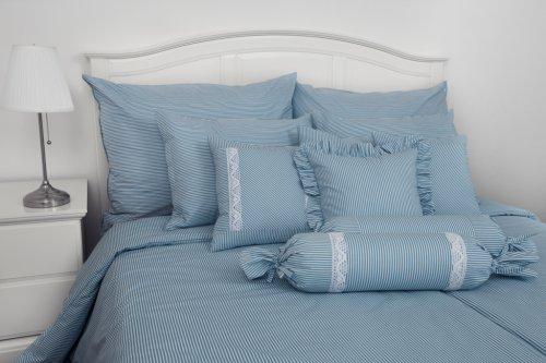 Bavlněné povlečení Modrý proužek (1)