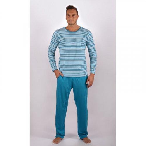 Pánské dlouhé pyžamo Robert (1)