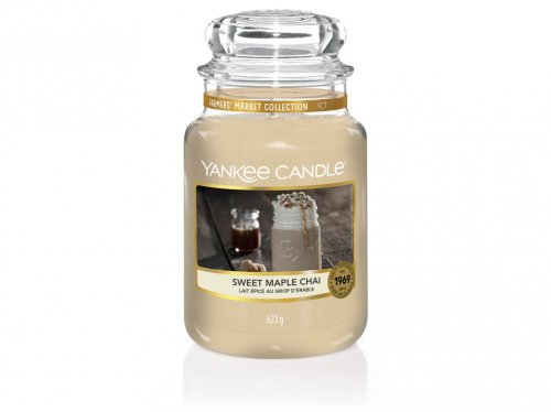 Yankee Candle Sweet Maple Chai (1)