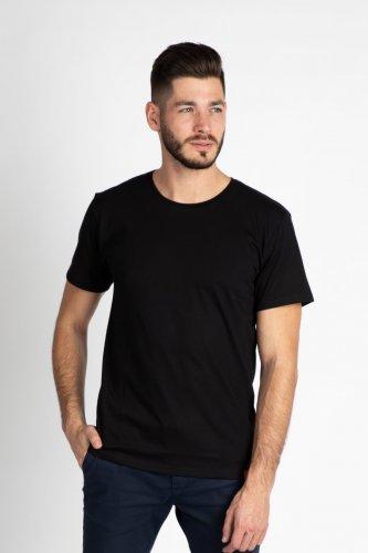 Pánské bavlněné tričko CITY ZEN černé (2)