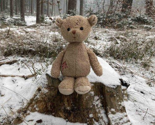 Medvídek Nobody´s perfect (25cm) (1)