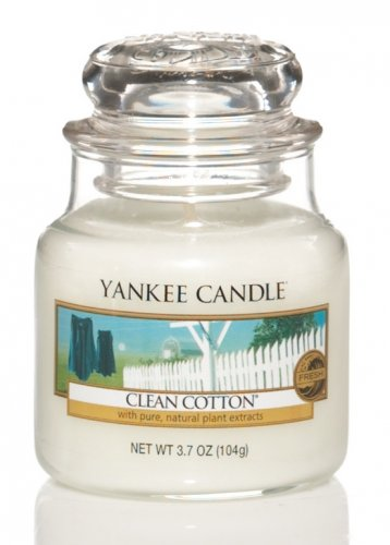 Yankee Candle Clean cotton (4)