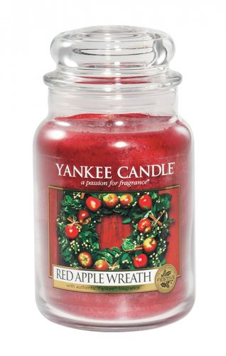Yankee Candle Red apple wreath (3)