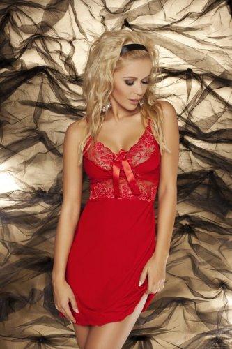 Dámská košilka Ines červená (1)