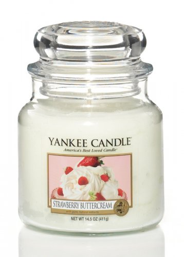 Yankee Candle Strawberry buttercream DOPRODEJ (1)